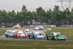 Mauro Giallombardo, Alifraco Sport Ford, Martin Ponte, GT Racing Dodge, Juan Manuel Silva, Catalan M