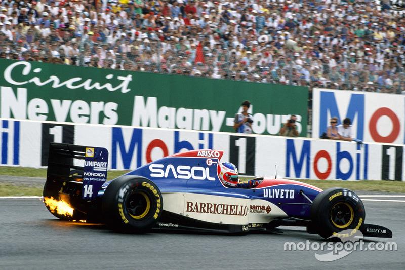 Rubens Barrichello, Jordan 193-Hart