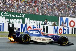 Rubens Barrichello, Jordan 931 Hart