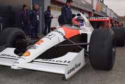 MP4/6に乗るジェンソン・バトン(Jenson Button, MP4/6)