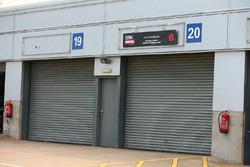 Honda World Superbike Team garages