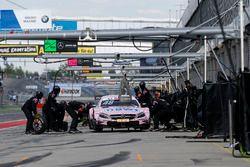 Pitstop, Edoardo Mortara, Mercedes-AMG Team HWA, Mercedes-AMG C63 DTM
