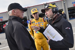 Kyle Busch, Joe Gibbs Racing Toyota, Adam Stevens, Joe Gibbs
