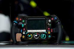 Lenkrad des Mercedes AMG F1 W08