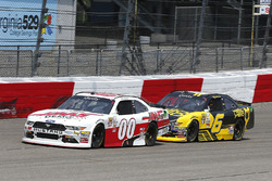 Cole Custer, Stewart-Haas Racing, Ford; Darrell Wallace Jr., Roush Fenway Racing, Ford