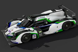 #20 Craft-Bamboo Racing Ligier JS P3: Greg Taylor, Alex Tagliani