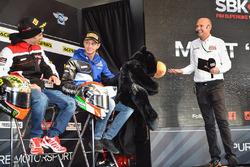Marco Melandri, Ducati Team, Michael van der Mark, Pata Yamaha
