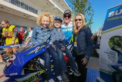 Kenny Roberts Jr. mit Familie