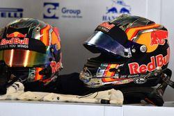 Helmets of Carlos Sainz Jr., Scuderia Toro Rosso