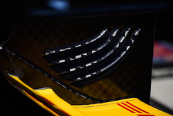 Ryan Hunter-Reay, Andretti Autosport, Honda, Flügel-Endplatte