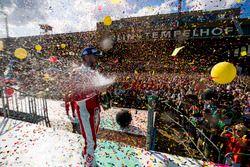 Nick Heidfeld, Mahindra Racing, podyumda