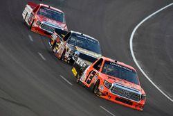 Cody Coughlin, ThorSport Racing Toyota and Myatt Snider, Kyle Busch Motorsports Toyota
