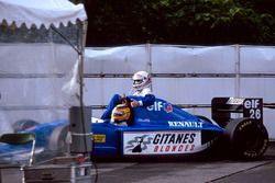 Марк Бланделл, Ligier Renault JS39, Мартин Брандл, Ligier Renault