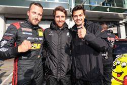 Pole-Position für Lance David Arnold, Daniel Juncadella, Mario Farnbacher, Haribo Racing, Mercedes-AMG GT3
