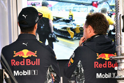 Daniel Ricciardo, Red Bull Racing and Christian Horner, Red Bull Racing Team Principal