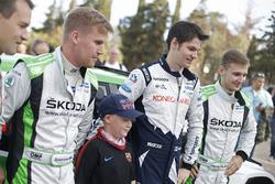 Teemu Suninen, M-Sport World Rally Team et Juuso Nordgren, Tapio Suominen, Skoda Motorsport