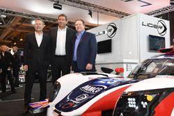 L-R: Richard Dean, Gerard Neveu and Zak Brown