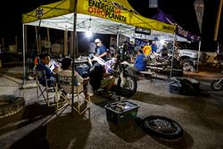 Atmosphere on the bivouac