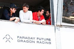 Loic Duval, Dragon Racing, mit Jay Penske