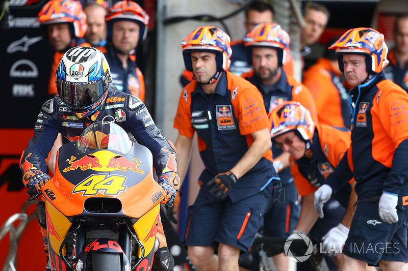 Pol Espargaró e a cada vez mais forte KTM foram pela primeira vez ao Q2. O espanhol larga em oitavo, melhor posição de largada da equipe austríaca na MotoGP.