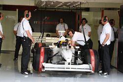 Patrick Friesacher, piloto Experiencia F1