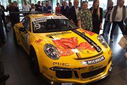 Francesca Lionssi e la Porsche 911 GT3 Cup