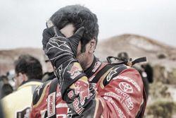 Nasser Al-Attiyah, Toyota Gazoo Racing nach dem Crash
