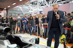 Giorgio Piola, esperto di analisi tecnica di F.1