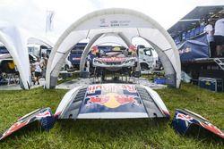 Teambereich Peugeot Sport Team