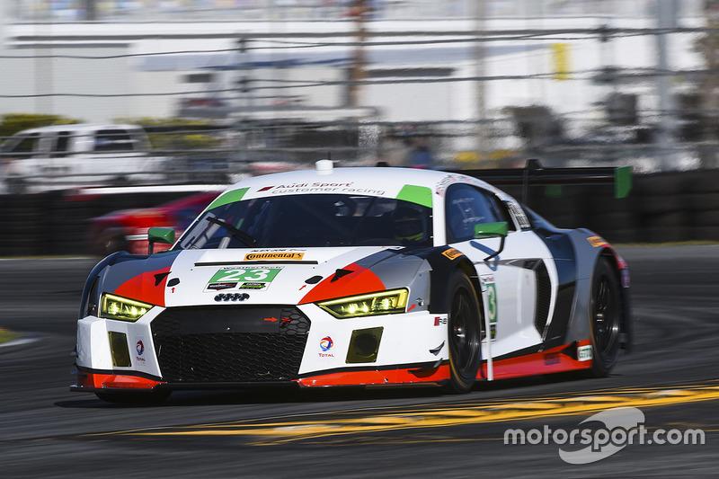 #23 Alex Job Racing Audi R8 LMS GT3: Bill Sweedler, Pierre Kaffer