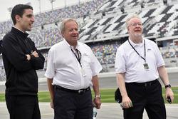 Travis Geisler, Edsel Ford y Kevin Kennedy
