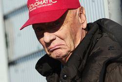 Niki Lauda, directeur non-exécutif Mercedes