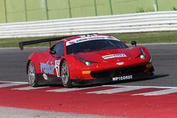 Ferrari 458 GT3 #74: Benuci-Niboli, MP1 Corse
