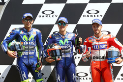 Valentino Rossi, Yamaha Factory Racing, Polesitter Maverick Viñales, Yamaha Factory Racing, Andrea D