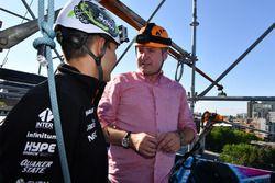 Esteban Ocon, Sahara Force India F1, David Croft, Sky TV