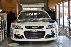 De wagen van Michael McDowell, Leavine Family Racing Chevrolet