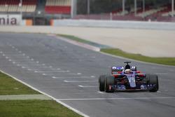 Carlos Sainz Jr., Scuderia Toro Rosso STR12, fait un essai de départ