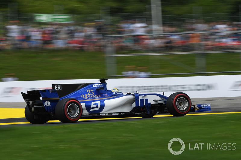 15. Marcus Ericsson, Sauber C36