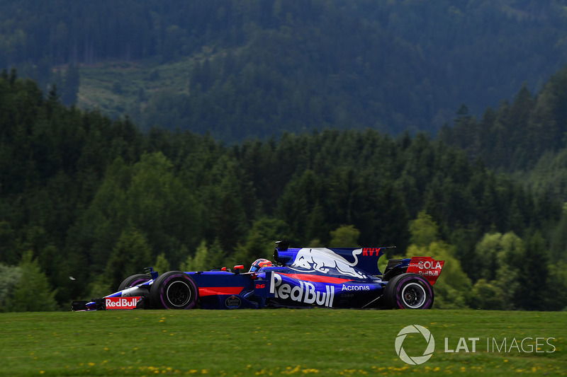 16. Daniil Kvyat, Scuderia Toro Rosso STR12