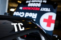 Ryan Preece, Joe Gibbs Racing Toyota con un tributo a Ted Christopher