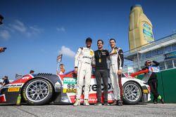 #99 Precote Herberth Motorsport, Porsche 911 GT3 R: Robert Renauer, Sven Müller mit Alfred Renauer