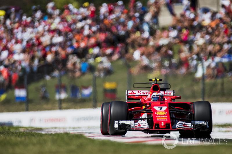 Giro 31 - Kimi Raikkonen, Ferrari SF70H