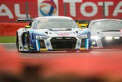 #26 Sainteloc Racing Racing Audi R8 LMS: Christian Kelders, Marc Rostan, Fred Bouvy, Grégory Guilver