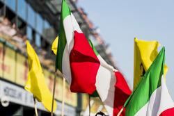 Italienische Flaggen