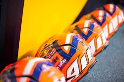 Red Bull KTM Factory Racing pit crew helmets