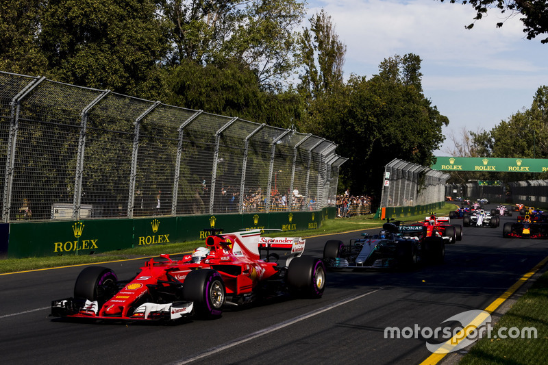 O alemão conquistava na Austrália sua 43ª vitória e a Ferrari dava sinais de que poderia encerrar a hegemonia da Mercedes. Lewis Hamilton tinha outros planos para 2017 e não deu chances aos rivais, sepultando novamente as ambições de Vettel