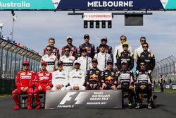Les pilotes de Formule 1 2017