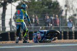 #72 Suzuki: Baptiste Guittet in trouble