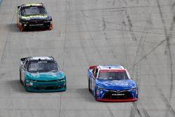 Matt Tifft, Joe Gibbs Racing Toyota, Brandon Brown, King Autosport Chevrolet, Ryan Sieg, RSS Racing