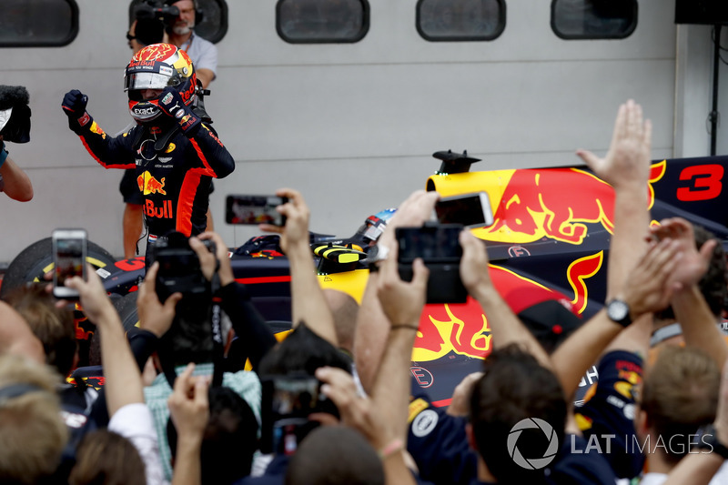 15º GP de Malasia 2017 - Victoria para Max Verstappen, Red Bull Racing